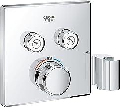 GROHE Grohtherm SmartControl 29125000 Douchesysteem, thermostaat met 2 afsluitventielen en geïntegreerde douchehouder, chroom