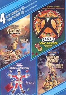 4 Film Favorites: Vacation Collection: (National Lampoon's Vacation / European Vacation / Christmas Vacation / Vegas Vacation)