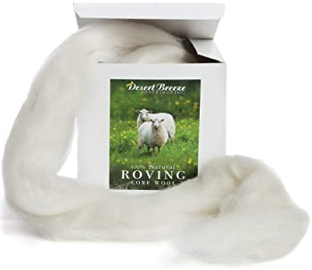 A Special Blend of New Zealand Wools by DHG for Needle Felting and Wet Felting 1 Ounce Each of Maori Wool Rocky Mountain Collection Carded Wool Batts 6 Colors 100/% Pure Wool