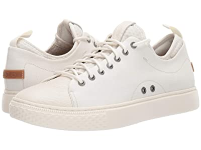 Polo Ralph Lauren Dunovin (Egret Canvas/Leather) Men