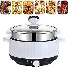 Poêle à frire électrique multi-cuiseur avec cuiseur vapeur, wok électrique, marmite électrique pour riz, bouilloire portab...