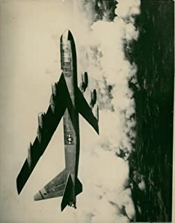 Vintage photo of Boeing B-52 Stratofortress Strategic bomber