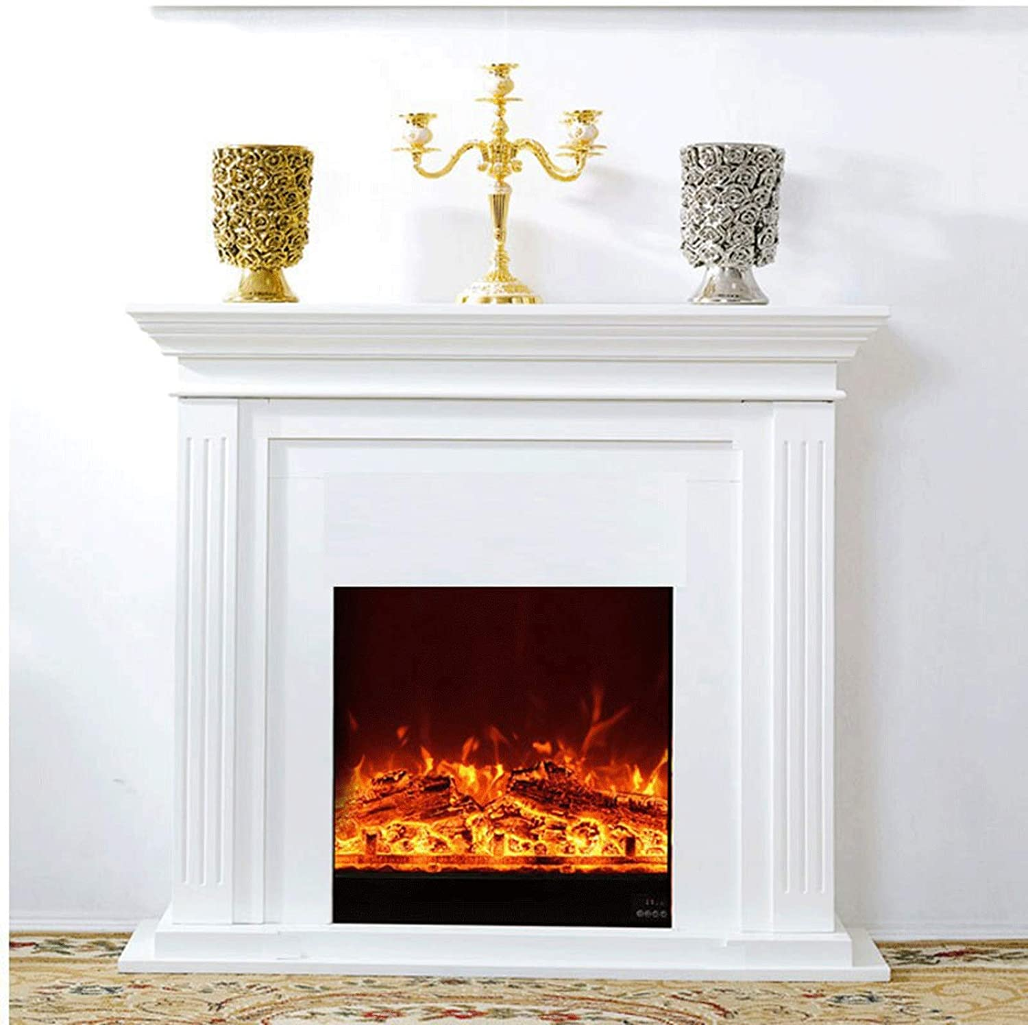 KKLL Fireplace At the Award price of surprise Freestanding Electric Heater Mante with