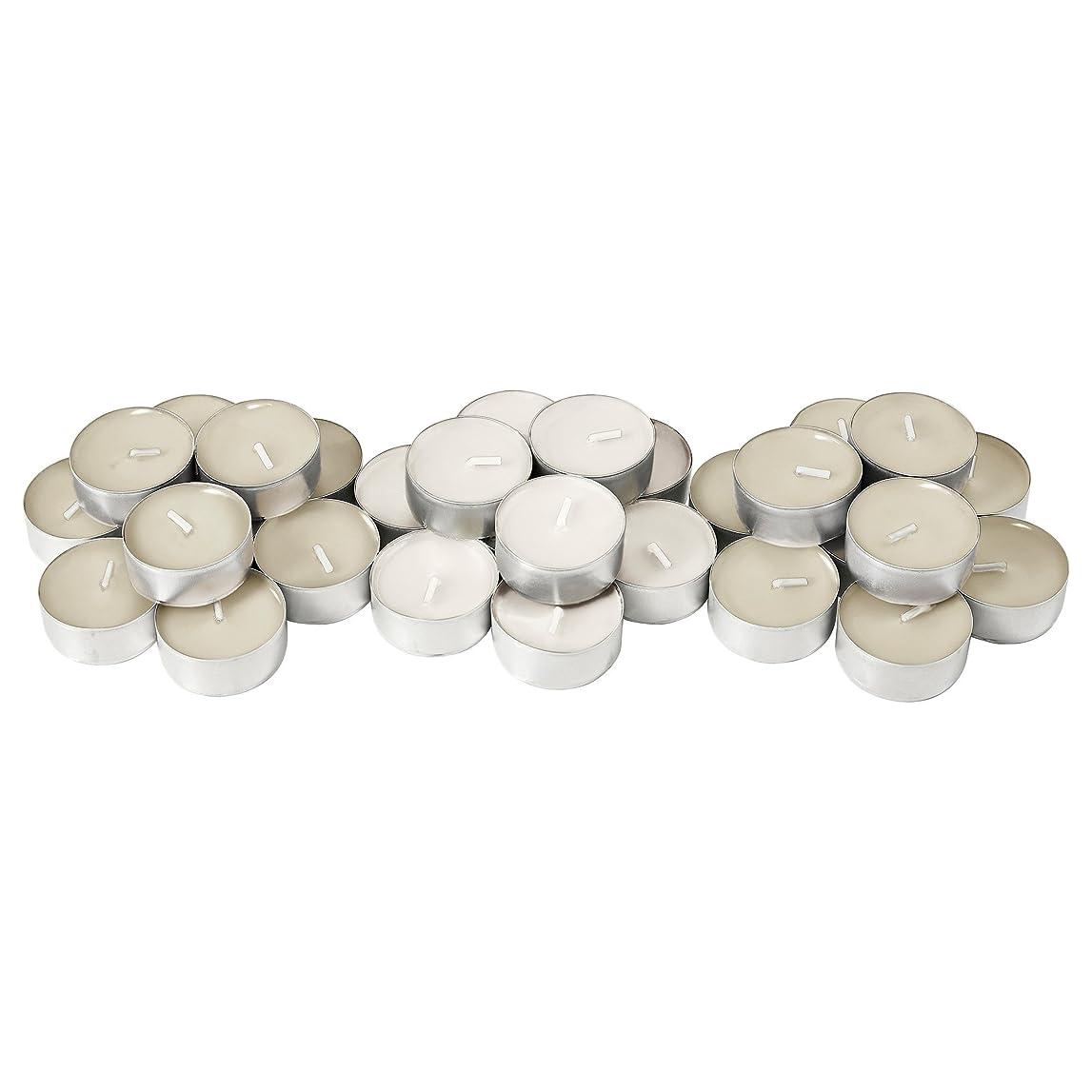 水流行しているプットIKEA SINNLIG 50237712 香り付ティーライト 38 mm バニラ ナチュラル 30 ピース