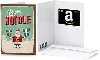 Buono Regalo Amazon.it in un biglietto d'auguri