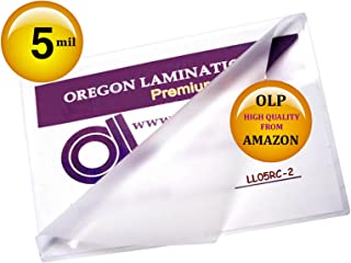Qty 200 Legal Laminating Pouches 5 Mil 9 x 14-1/2
