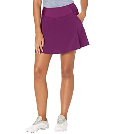 PUMA Golf PWRSHAPE Solid Woven Skirt (Dark Purple) Women