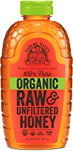 Nature Nate's 100% Pure Raw & Unfiltered Organic Honey; 32-oz. Squeeze Bottle; Product of Brazil and Uruguay; Enjoy Honey's Balanced Flavor and Wholesome Benefits, Just as Nature Intended