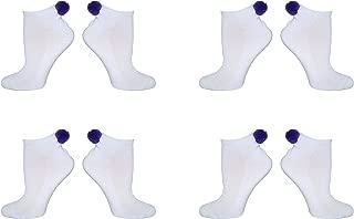 socks with pom poms on the back