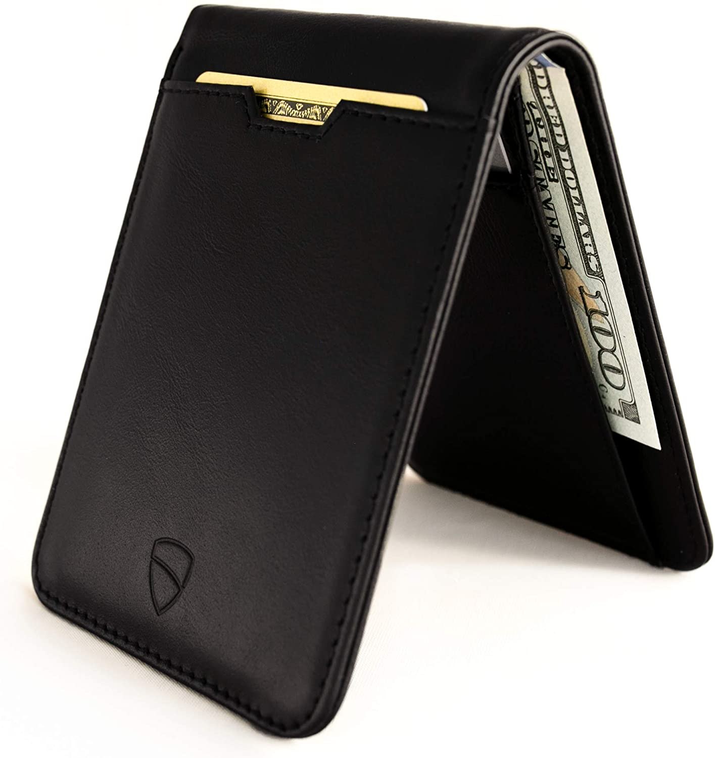 Vaultskin MANHATTAN Slim Minimalist Bifold Wallet and Credit Card Holder with RFID Blocking and Ideal for Front Pocket