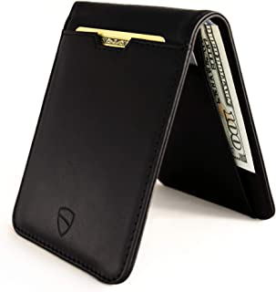 MANHATTAN Slim Bifold Wallet with RFID Protection for Cards and Cash