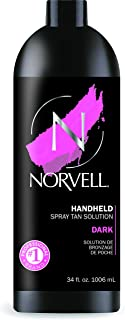 Norvell Premium Sunless Tanning Solution – Dark, 34 Fl Oz