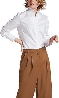 Eterna Long Sleeve Blouse Modern Classic strukturiert