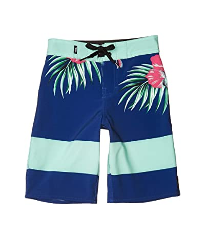 Vans Kids Era Boardshorts (Little Kids/Big Kids) (Sodalite Blue Trap Floral) Boy