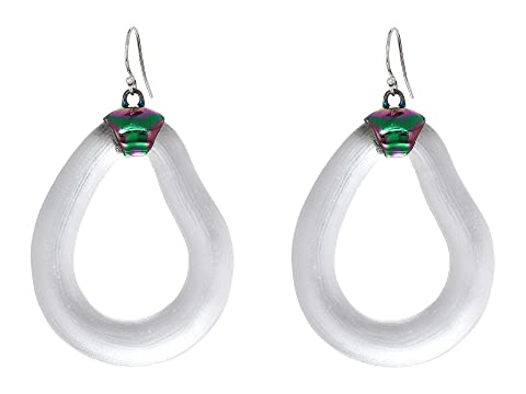 Alexis Bittar PVD Organic Link Wire Earrings