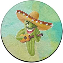 Mexican Musicians Doormat Entrance Mat Floor Mat Rug Indoor/Outdoor/Front Door Mats Non Slip