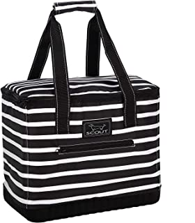 SCOUT The Stiff One Cooler Bag, Insulated Soft Cooler Bag, Leak Proof Large Picnic or Beach Cooler with Hard Bottom (Multiple Patterns Available)