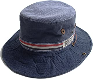 QUINTETTO トリコロール ライン アドベンチャー ハット サファリ ハット バケットハット ミリタリー アウトドア 登山 トレッキング 帽子 HAT キャップ 03-k-1006