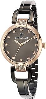 Daniel Klein Premium Alloy Case Stainless Steel Band Ladies Wrist Watch DK.1.12503 4, pink