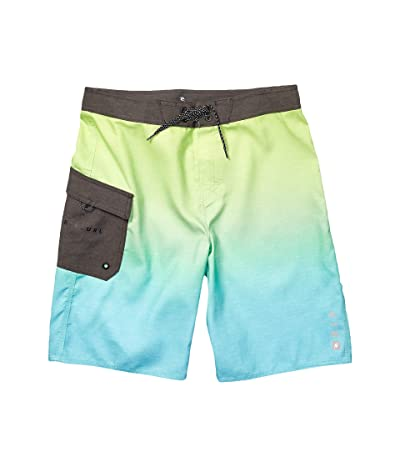 Rip Curl Kids Dawn Patrol Boardshorts (Big Kids) (Lime) Boy