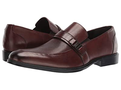 Kenneth Cole Reaction Zac Slip-On B (Cognac) Men