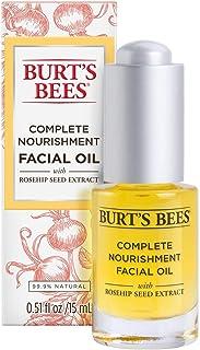 Burt's Bees Complete Nourishment Facial Oil, 15 mL