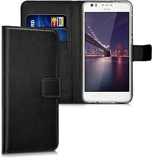 96c1835639d kwmobile Funda para HTC Desire 10 Lifestyle - Carcasa de [Cuero sintético]  - Case