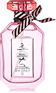 BEAU MONDE BY DORALL COLLECTION PERFUME FOR WOMEN 3.3 OZ / 100 ML EAU DE PARFUM SPRAY