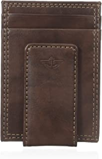 Dockers Men's Front Pocket Wallet with Money Clip