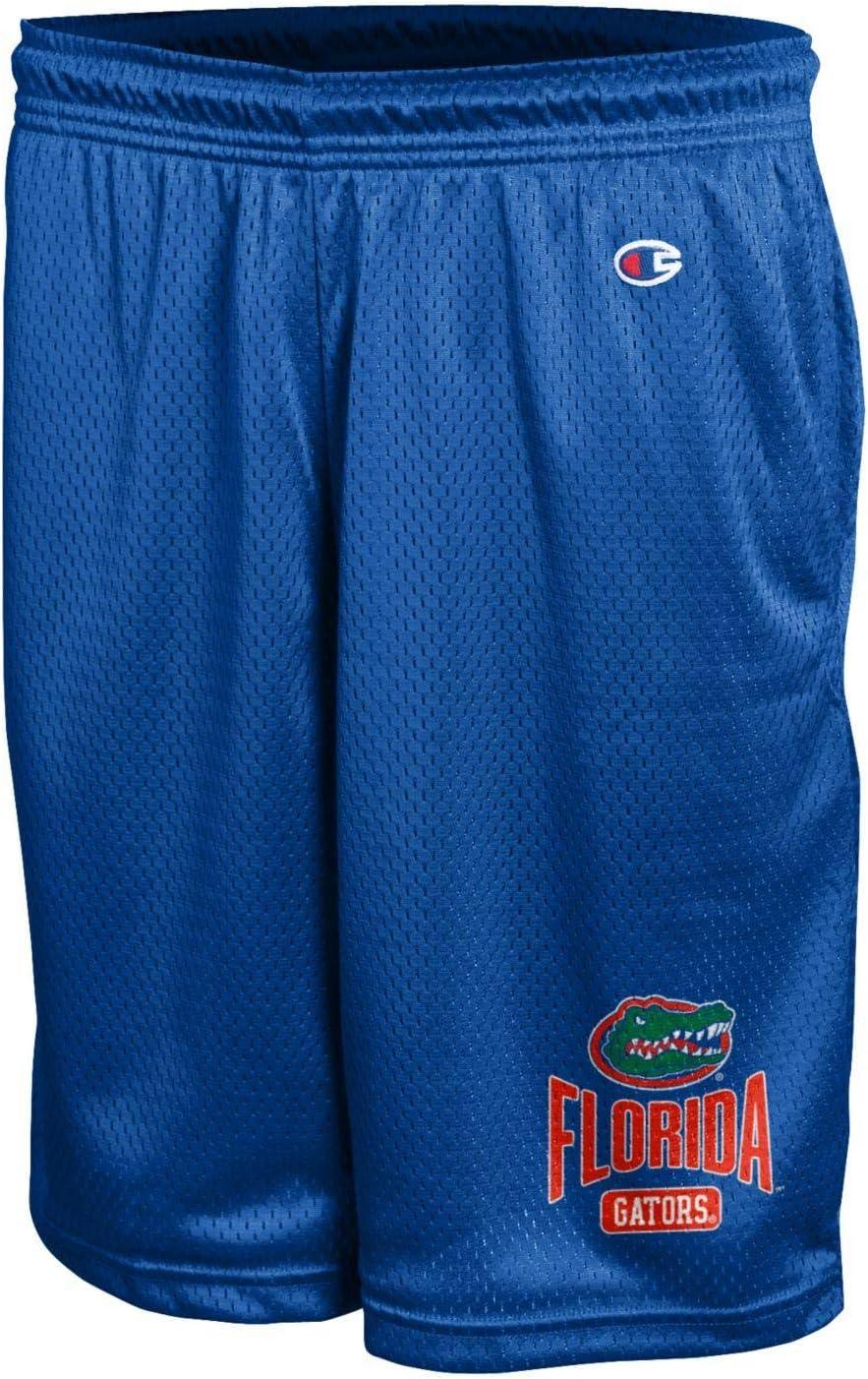 Workout Shorts Team Colors Champion NCAA Mens Mesh Basketball Shorts