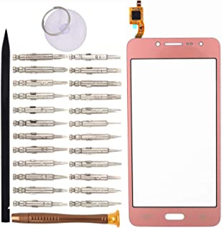 Goodyituo Touch Screen Glass Digitizer Replacement for Samsung Galaxy Grand Prime Plus/Grand Prime 2016/-G532F/J2 Prime(Pink)