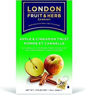 London Fruit & Herb Apple & Cinnamon Twist Tea 20 Bag(s)
