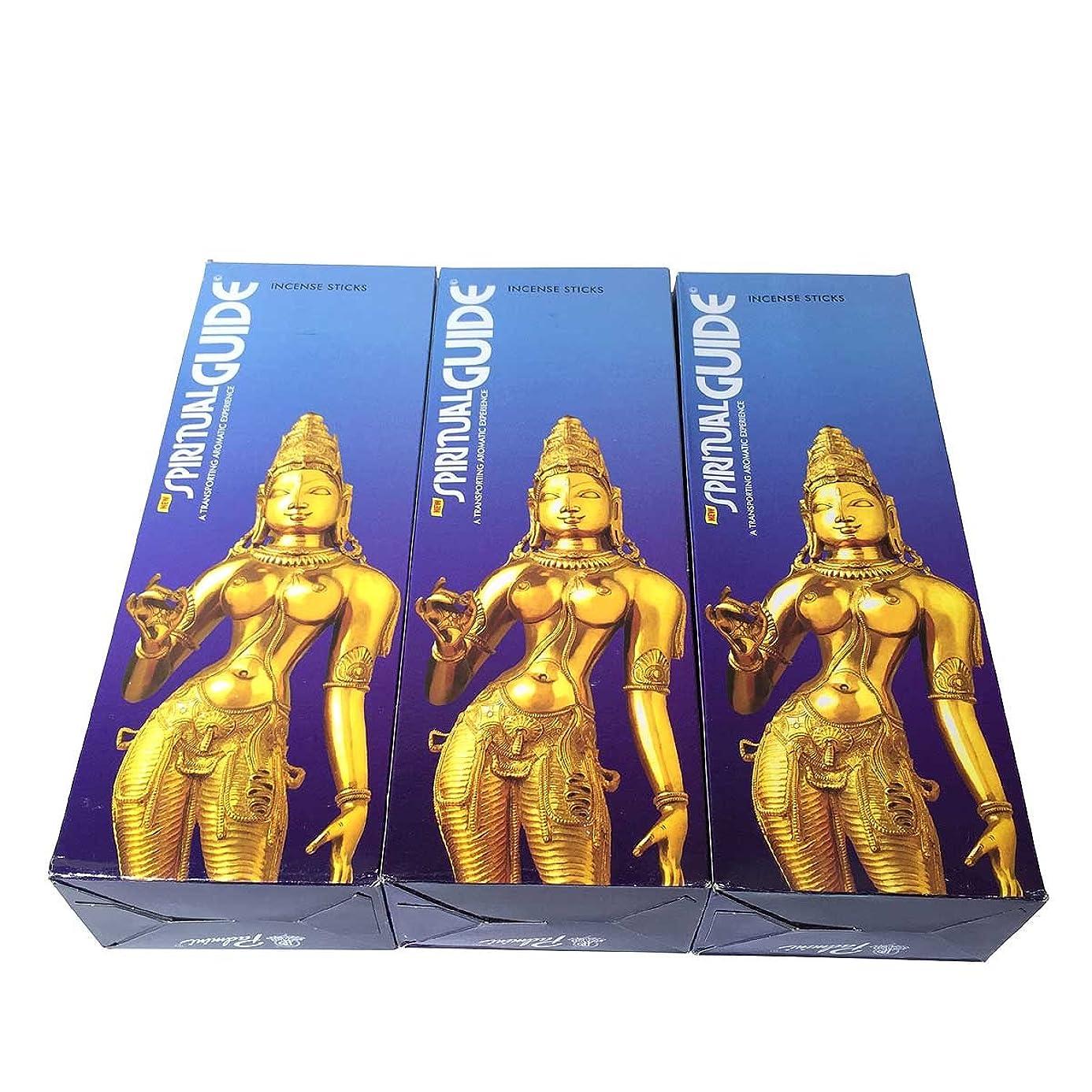 頂点アクセント慢スピリチュアルガイド香スティック 3BOX(18箱) /PADMINI SPIRITUALGUIDE/インセンス/インド香 お香 [並行輸入品]