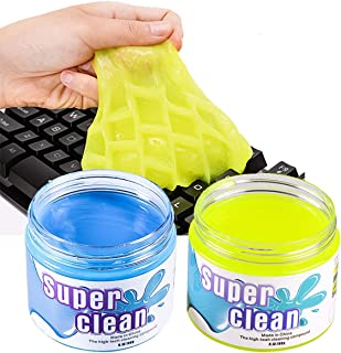 MQ Keyboard Cleaner, Car Cleaning Soft Rubber for Computer Pc Laptop Mac MacBook Mobile Telephone Remote Control Printer T...