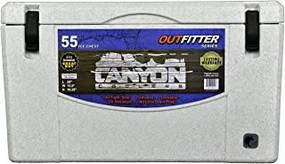 CANYON COOLERS Outfitter Series 55qt- White Marble