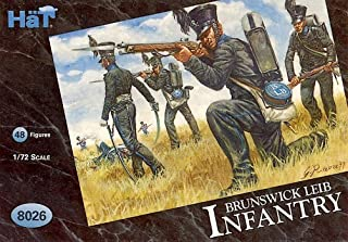 HaT 8026 Napoleonic Brunswick Leib Infantry 1:72 Figures by HaT Industrie