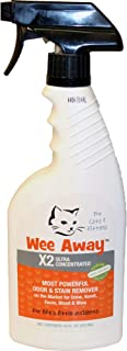 Wee Away X2 Ultra Concentrated Most Powerful Odor and Stain Remover 16 oz.