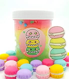 Macaron Fluff Cloud Slime