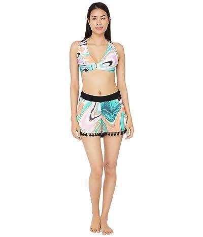 Trina Turk Nazare Tassel Shorts Swimsuit Bottoms (Multi) Women