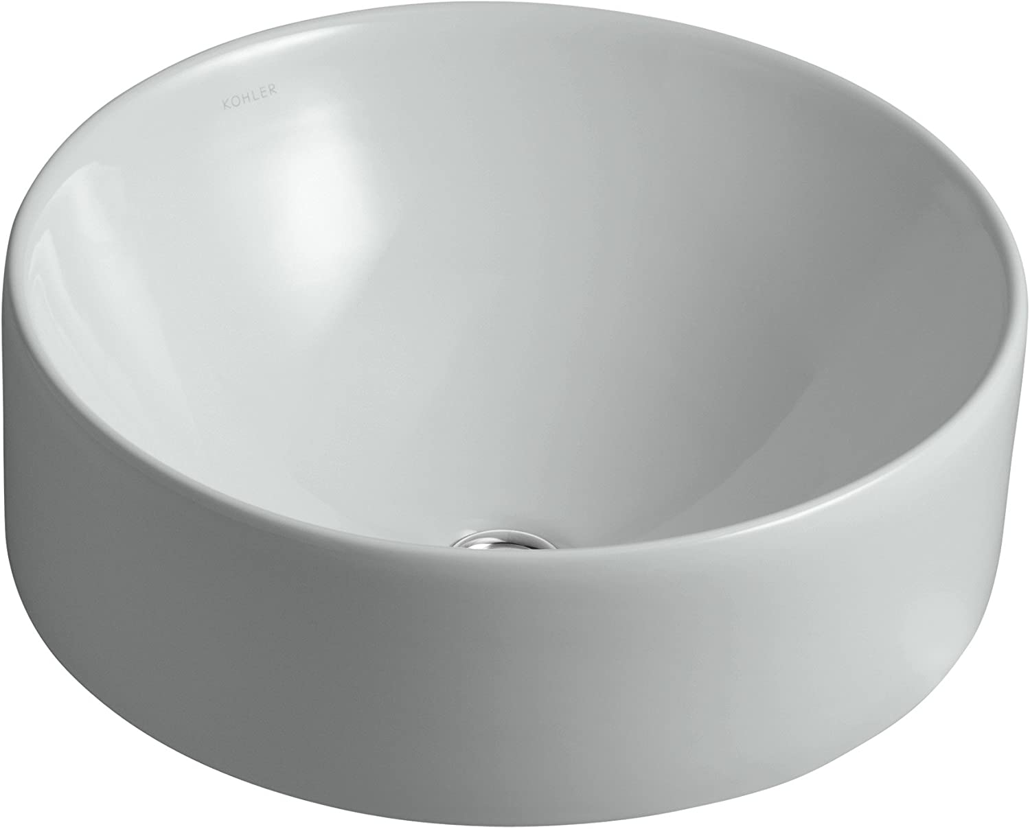 Kohler 14800-95 Vitreous china Above Round Bathroom counter Same day shipping Max 66% OFF Sink