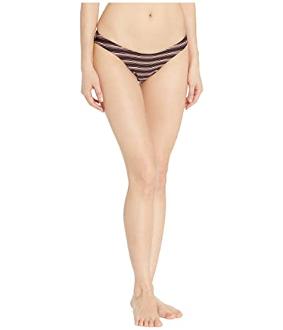 RVCA Bandit Medium Bikini Bottoms (Black) Women