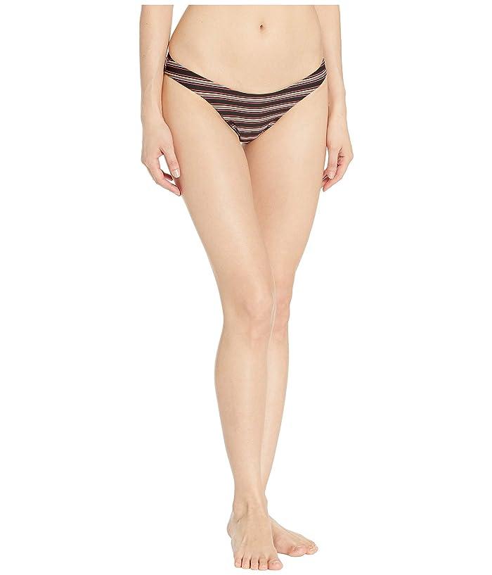 RVCA Bandit Medium Bikini Bottoms (Black) Women