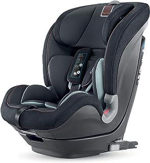 Inglesina Caboto- Silla de auto, para niños de 1 a 12 años, color negro