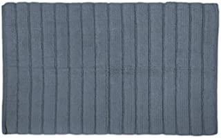 DII Oceanique Machine Washable 100% Cotton Woven Ribbed Luxury Spa Bath Rug, Soft & Absorbent, Place Near Vanity, Bath Tub...