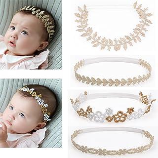 787f397bc7ca DANMY Baby Girl Rhinestone Crown Headbands Toddler Princess Headband Hair  Accessories