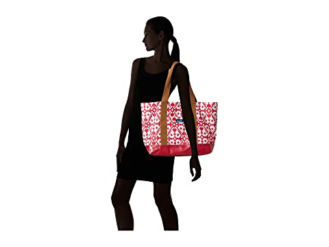 Great Deals For Sale Sale With Credit Card KAVU Shilshole Tote Pink Blot Free Shipping Fashionable Buy Cheap Big Sale For Sale ZKbUn