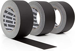 Lockport Black Gaffers Tape 3 Pack– 30 Yards x 2 Inches Wide – Waterproof, No..