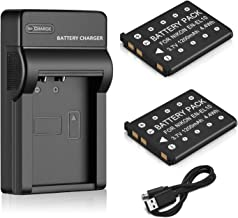 Venwo 2 Pack EN-EL10 Battery and USB Charger for Nikon Coolpix S60, S80, S200, S205, S210, S220, S230, S500, S510, S520, S570, S600, S700, S3000, S4000, S5100 Digital Cameras, MH-63 Charger