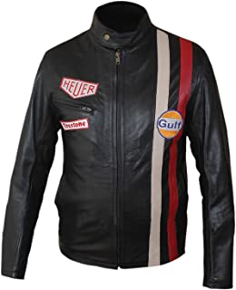steve mcqueen leather motorcycle jacket