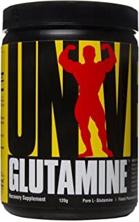 Universal Nutrition Glutamine Powder Supplement - Pure L-Glutamine - Muscle Recovery BCAA - Full 5g of Glutamine per Servi...